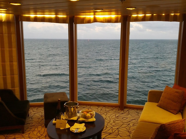 At sea - view from Celebrity Suite 6104